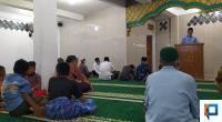 Wakil Koordinator TSR II Kota Solok, Bujang Putra menyampaikan himbauan kepada masyarakat