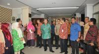 Rombongan Pemprov Sumbar mendatangi RSUD M Natsir Kota Solok