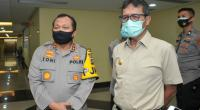 Kapolda Sumbar Irjen. Pol. Drs. Toni Harmanto bersama Gubernur Sumbar Irwan Prayitno