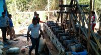 Penambangan emas tanpa izin di Nagari Rao-Rao, Kecamatan Sungai Tarab, Tanah Datar
