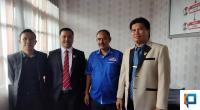 Pengurus DPD PAN Solsel Bersama Anggota Fraksi PAN DPRD Solsel, Erwin Ali Yendri Susanto, Afri Nofiardi dan Mesi Aswanto