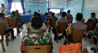 Sosialisasi aplikasi Silacak pada Bhabinsa dan Bhabinkamtibmas se Kota Solok