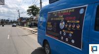 Mobil Dayamas BNNK Payakumbuh yang dipakai untuk sosialisasi bahaya penyebaran COVID-19 dan edukasi tentang bahaya penyalahgunaan narkoba di Payakumbuh.