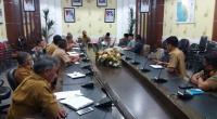 Pemkab Rakor bersama DPRD Pesisir Selatan penyampaian kebutuhan anggaran untuk penanganan COVID-19