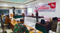 Komisioner Bidang Teknis KPU Kabupaten Solok, Defil menjelaskan syarat calon dan pencalonan di Pilkada Solok 2020