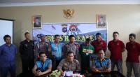 Press Release Polisi Gadungan di Mapolresta Padang