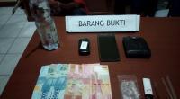 Barang bukti penangkapan