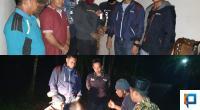 Kedua tersangka pengedar sabu saat diamankan polisi didua tempat berbeda di Pasaman Barat