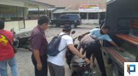 Sepeda Motor Pelaku Saat Diamankan Polsek Lubuk Kilangan