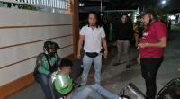 Proses penangkapan pelaku oleh Tim Gagak Hitam Polres Padang Pariaman