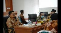 Bupati dan Wabup Tanah Datar memimpin rapat dengan pimpinan OPD