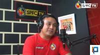 Manajer Semen Padang FC Effendy Syahputra saat mengisi acara Blak-Blakan di Channel YouTube Semen Padang FC TV