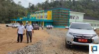 Rumah sakit Pratama Solsel di Nagari Lubuk Malako Kecamatan Sangir Jujuan
