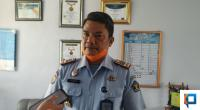 Kepala LPKA Tanjung Pati Tapianus A. Barus saat wawancara di ruangannya.
