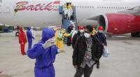 WNI dan awak pesawat Batik Air yang datang dari Wuhan