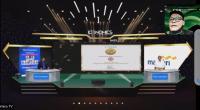Tangkapan layar aplikasi zoom acara penyerahan penghargaan Indonesia CSR Brand Equity