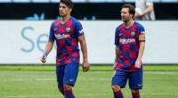 Luis Suarez dan Lionel Messi