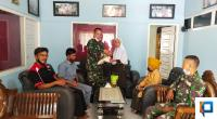 Silaturahim ke Veteran, Kababinminvetcaddam I/BB Salurkan Tali Asih Jelang Lebaran.