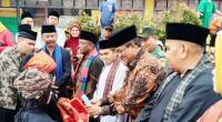 Bupati Solok, H. Gusmal menghadiri syukuran Nagari dan Wali Nagari Cupak periode 2020-2026