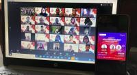 IndonesiaNEXT dan IndonesiaNEXT  1 - General Manager Consumer Sales Region Sumbagteng Mulyadi Indra dan General Manager Corporate Social Responsibility Andry P Santoso memberikan semangat kepada seluruh peserta di kegiatan Webinar IndonesiaNEXT Regional Sumbagteng