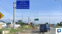 Pintu Jalan Tol Padang-Pekanbaru di Jalan Bypass Padang