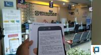 Suasana di Kantor BPJS Payakumbuh terlihat sepi pasca layanan non tatap muka melalui Layanan PANDAWA