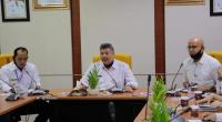 Wako Solok, Zul Elfian dan Wawako Reinier rapat bersama OPD di Balaikota Solok.
