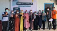 PLN Unit Pelaksana Pelayanan Pelanggan (UP3) Payakumbuh inisiasi Vaksinasi Covid-19 di Lingkungan Kantor PLN U3 Payakumbuh.
