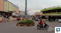 Suasana PSBB di salah satu ruas jalan di Kota Bukittinggi