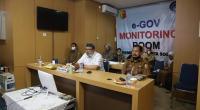 Vidcon dengan Gubernur, Wako Solok, Zul Elfian usulkan untuk tetap melakukan pembelajaran online