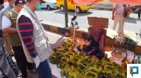 Wagub Sumbar Berdiskusi Dengan Pedagang Pasar di Bukittinggi