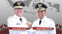 Wali Kota Payakumbuh Riza Falepi dan Wakil Wali Kota Payakumbuh Erwin Yunaz