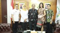 Kunjungan Audiensi Putri Maluku 2019 tersebut, di ruang kerja Wakil Ketua DPD RI, Gedung Nusantara III, Komplek Parlemen Senayan, Jakarta, Senin (27/1).