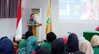 Sekretaris Utama BKKBN Pusat saat menyampaikan kegiatan Pembekalan Materi Kependudukan Bagi Mahasiswa Kuliah Kerja Nyata (KKN) Tematik Unand Tahun 2019 pada Sabtu (13/4)