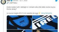Jersey baru Inter Milan untuk musim depan ternyata made in Indonesia.