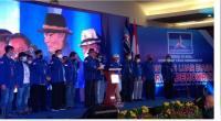 Kongres Luar Biasa (KLB) Partai Demokrat di The Hill Hotel Sibolangit, Deli Serdang, Sumatera Utara, Jumat (5/3/2021).