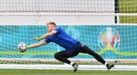 Aaron Ramsdale berlatih bersama Timnas Inggris