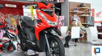 Penampakan motor All New Honda Beat