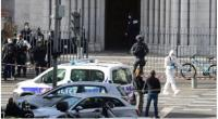 Serangan di gereja Basilika Notre Dame, kota Nice, Prancis pada 29 Oktober 2020.