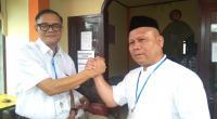 Pasangan Bakal calon Bupati dan Wakil Bupati Solok Selatan Jon Matias-Jufrial