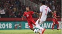 Aksi pemain Timnas Indonesia U-19 Todd Rivaldo Ferre mencoba melewati lawan.