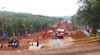 Lokasi groundbreaking proyek pembangunan Kereta Api Cepat Jakarta-Bandung, Kamis (21/1/2016), di Cikalong Wetan, Bandung Barat.