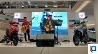 Band Peformance Saat Peluncuran All New Honda Beat di Transmart Padang
