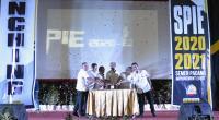 Direktur Operasi PT Semen Padang Firdaus (tengah) melauching Semen Padang Improvement Event (SPIE) 2020. Ajang ini merupakan bentuk kegiatan perusahaan untuk mendorong lahirnya