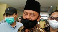 Ketua Presidium KAMI Gatot Nurmantyo di Gedung Bareskrim Polri