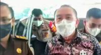 Djoko Tjandra tanpa memakai baju tahanan dan borgor saat diperiksa Kejagung RI.