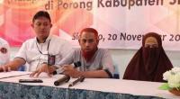 Narapidana terorisme menerima remisi lebaran. Umar Patek saat memberikan keterangan di Lapas Porong Sidoarjo.