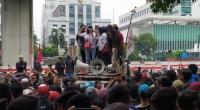 Demo warga Tanjung Priok.