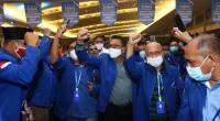 Moeldoko terpilih sebagai ketua umum hasil Kongres Luar Biasa (KLB) di Deliserdang, Sumatera Utara.