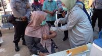 Vaksinasi Nakes di Pessel Dimulai